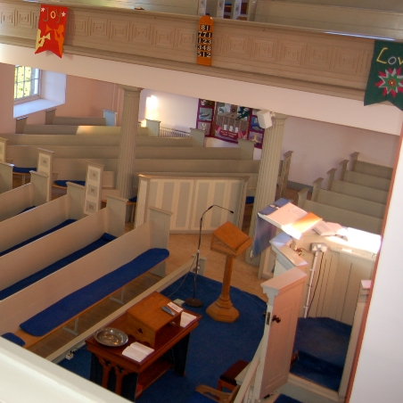 Chancel area before Re-order